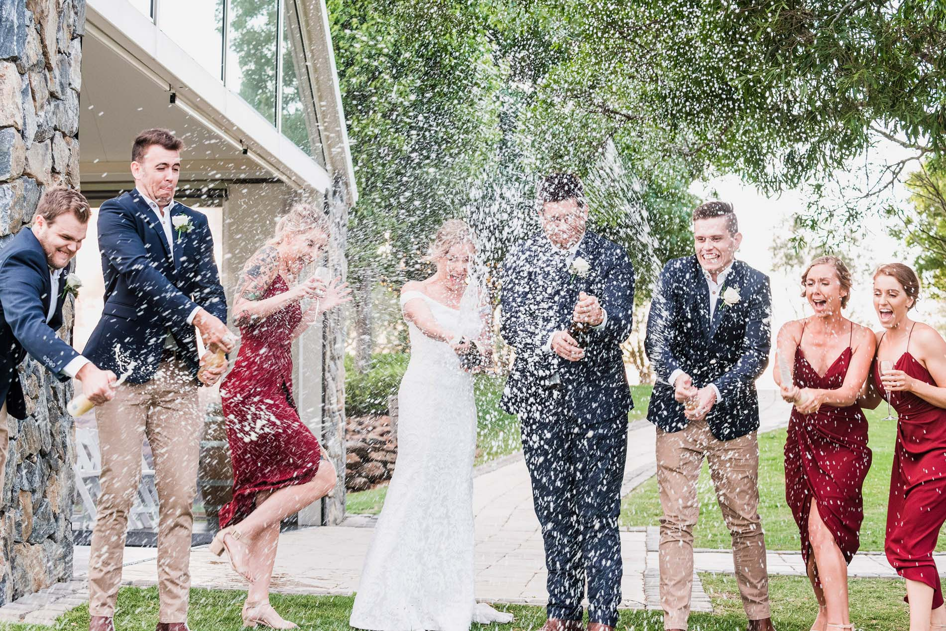 181206 1149 crazy bridal party photo mad champagne showers wild