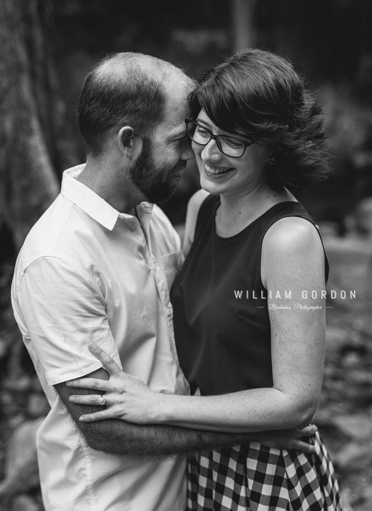 190303 0005 2 wedding photographer brisbane engagement samford moreton bay rocky creek stream couple