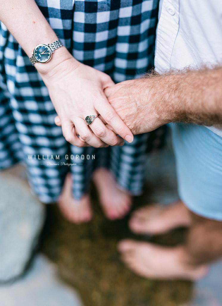 190303 0073 wedding photographer brisbane engagement samford moreton bay rocky creek stream ring watch details