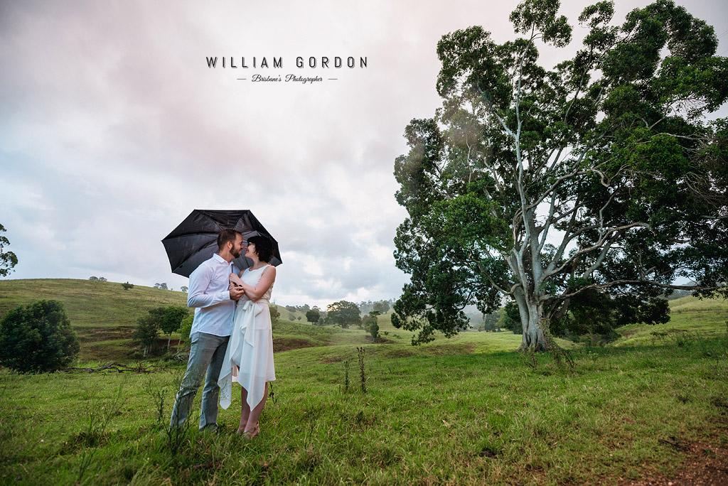 190303 0160 wedding photographer brisbane engagement samford moreton bay paddock country bond road umbrella tree