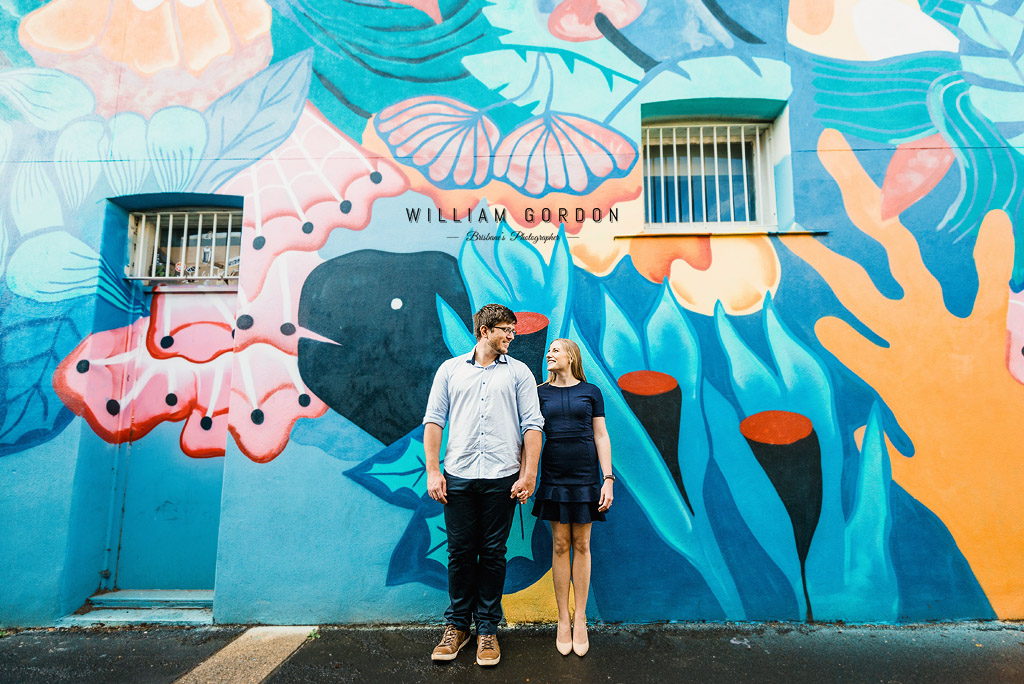 180908 0097 toowoomba engagement couple shoot inspiration city urban queens park laneways street art colourful
